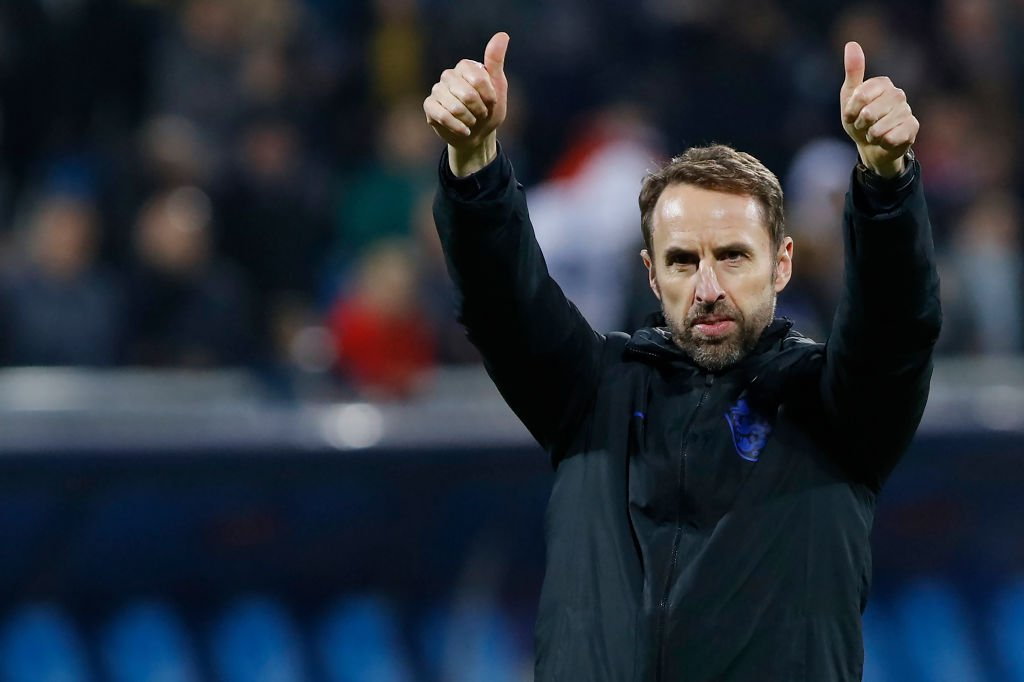Gareth Southgate says his England side are 'further ahead' than they were after the last qualification campaign. More: https://bbc.in/2r0jgEL