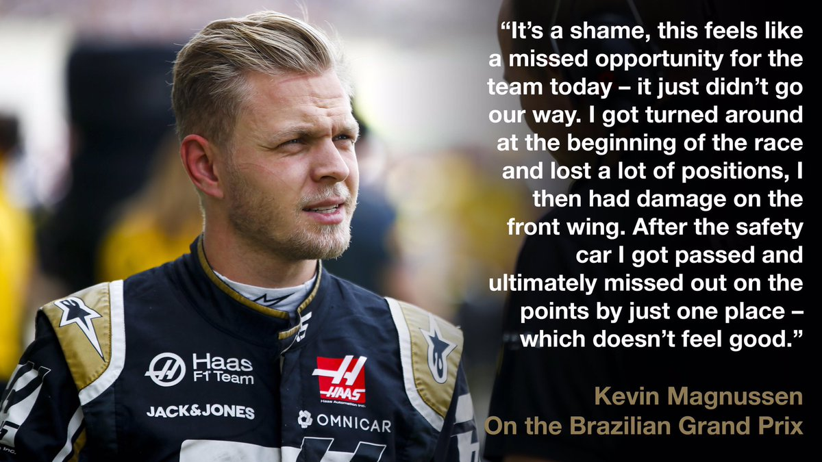 So close to the points, but @KevinMagnussen just missed out in P11.   Here's everything he had to say 👉 http://bit.ly/37aBzrD