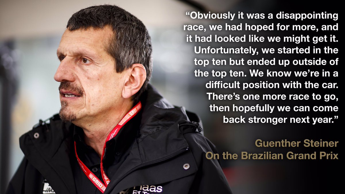 Guenther's #BrazilGP debrief.   Read in full now 👉 http://bit.ly/37aBzrD