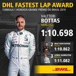 👏 @ValtteriBottas   The flying Finn took his third @DHL_Motorsports Fastest Lap Award of 2019 at Interlagos 🚀  #BrazilGP 🇧🇷 #F1