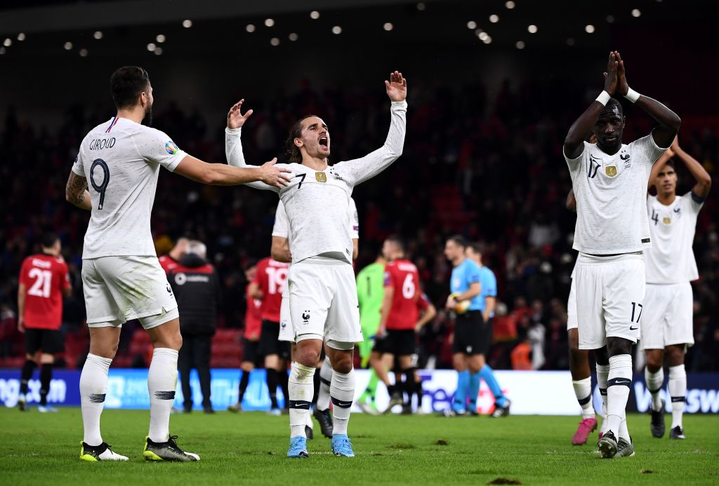 France needed a win to top their #EURO2020 qualifying group...and that's what they got!Find out more: https://bbc.in/2NYXhY1