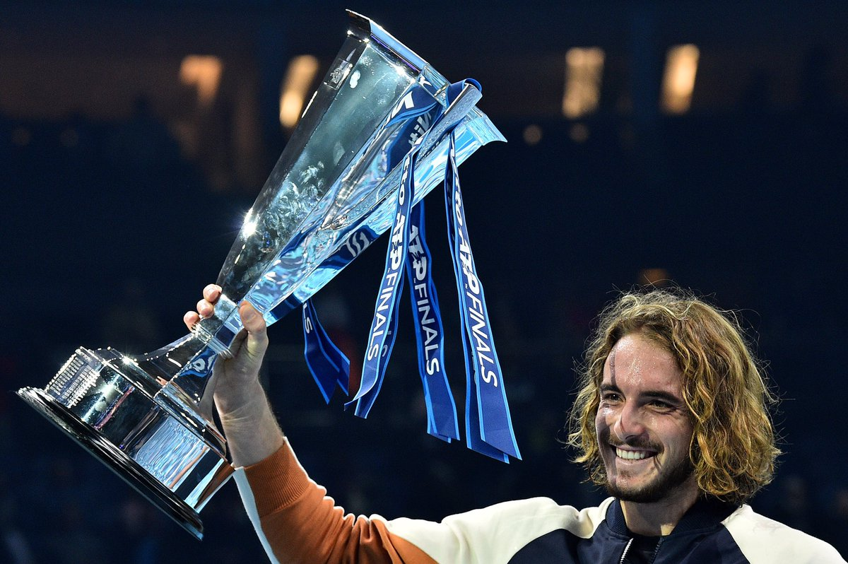 This feels like the start of something.   It's @StefTsitsipas' time and we are here for it.    #ATPFinals <br>http://pic.twitter.com/CJn8kADiIY
