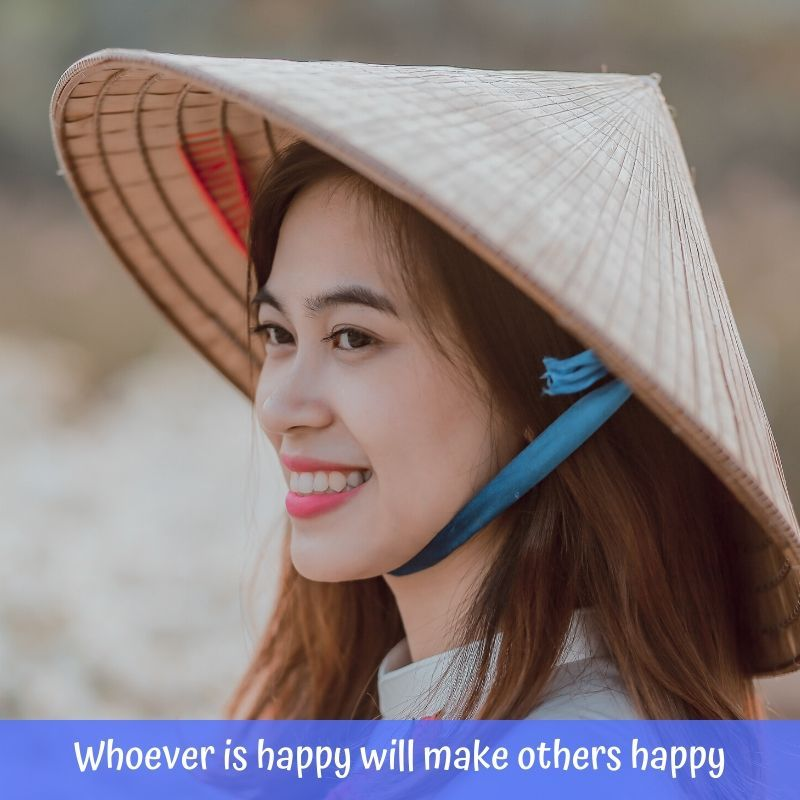 Whoever is happy will make others happy -- Anne Frank#beboldbenatural #quote #quotes #life #happy #happiness #inspiration #motivation⁠ #BeYourself #positive