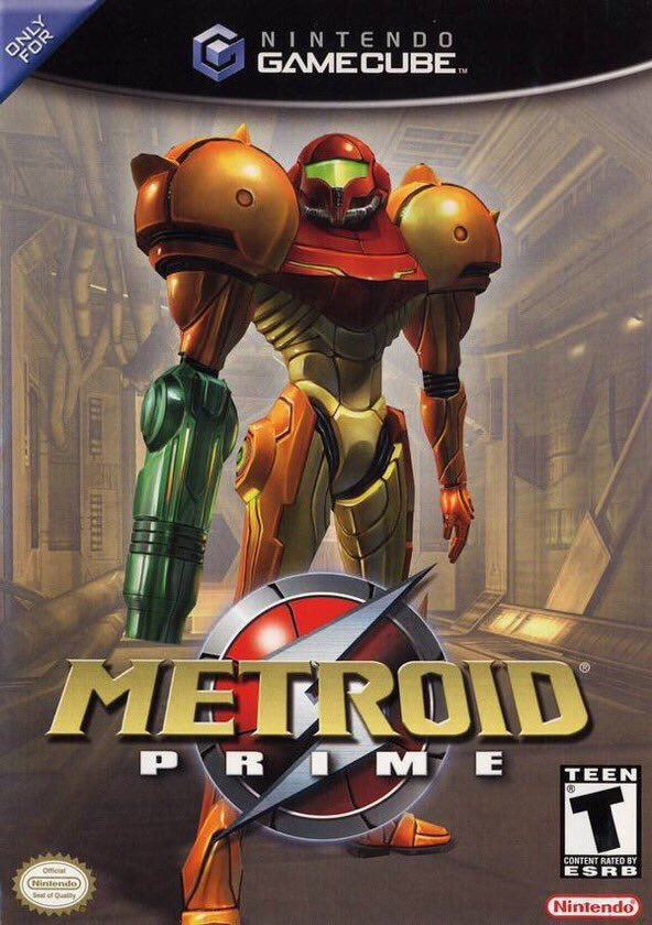 Metroid Prime for Gamecube was released on this day in North America, 17 years ago (2002)