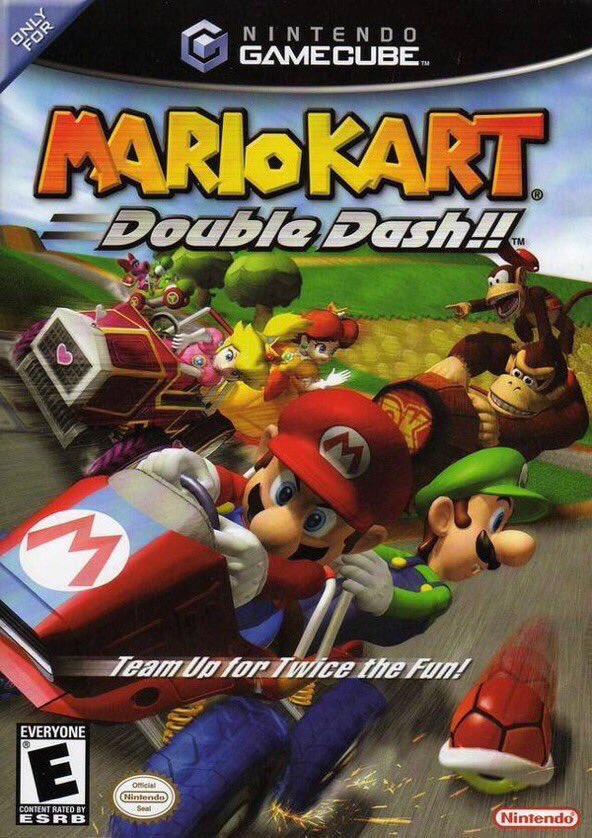 Mario Kart: Double Dash!! for Gamecube was released on this day in North America, 16 years ago (2003)