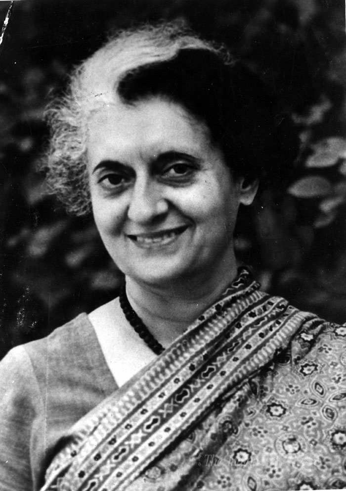Born on this day in 1917, politician, stateswoman, and the first female Prime Minister of India — Indira Gandhi.