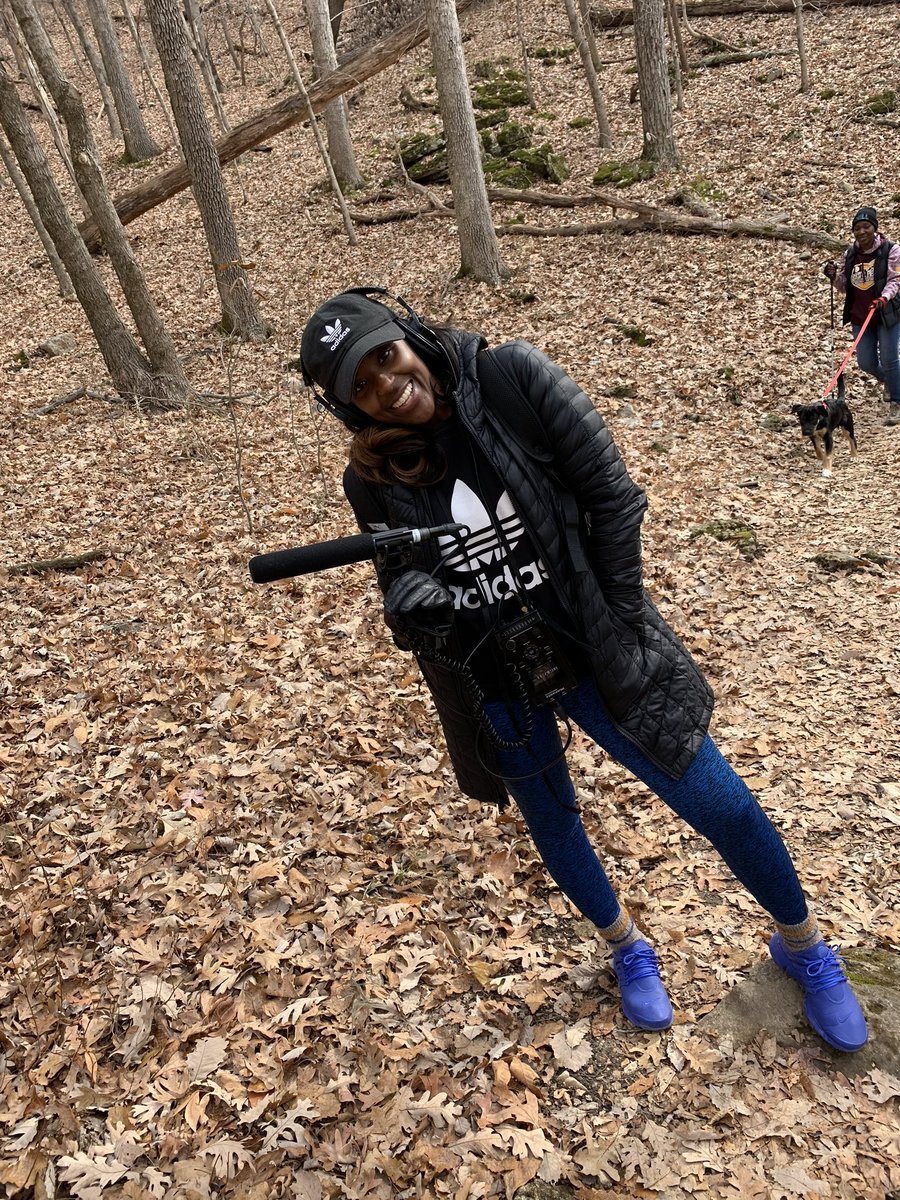 I just completed a 3-mile hike 🍂🌿🐿with some good folks from @OutdoorAfro and all I can say is, I feel AMAZING! #NationalTakeAHikeDay #IGoWhereeverTheStoryTakesMe #OutdoorAfro #BlackPeopleHike #DiversityOutdoors
