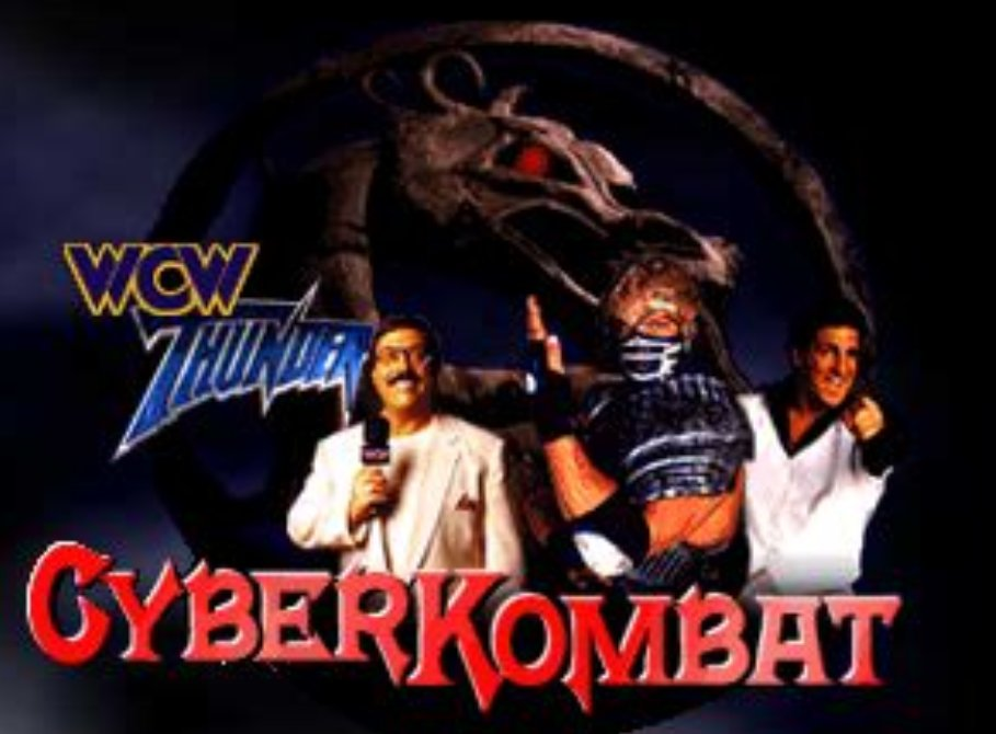 WCW Thunder's Lee Marshall, Glacier, and Disco Inferno star in  CYBER KOMBAT<br>http://pic.twitter.com/VuBwNMadPe