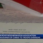 Image for the Tweet beginning: Neighborhood Association sending cards to