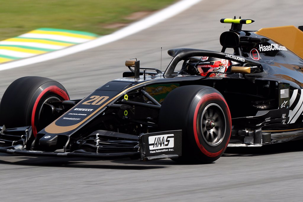 🏁🇧🇷 We battled so hard but leave empty handed 😞  P11 @KevinMagnussen  P14 @RGrosjean   Max Verstappen takes the 🏆 after an amazing race at Interlagos!  #HaasF1 #BrazilGP