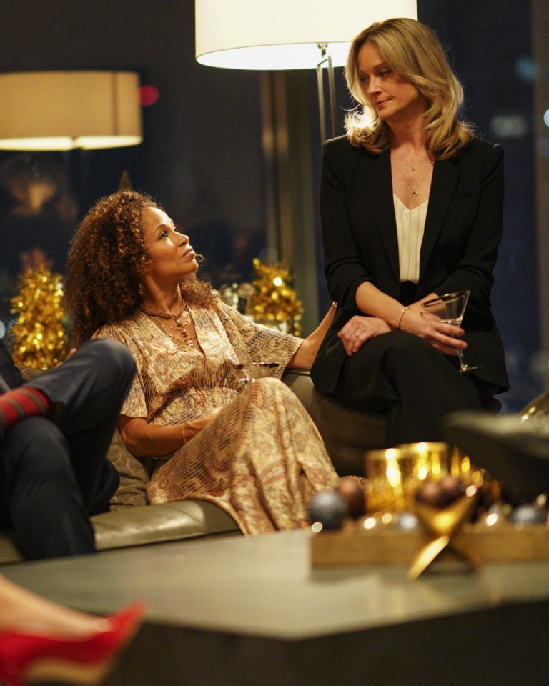 News photos promo of @SherriSaum1 and @TeriPolo1 for the christmas special episode of @GoodTrouble 2/2 <br>http://pic.twitter.com/n0l7OVmb2f