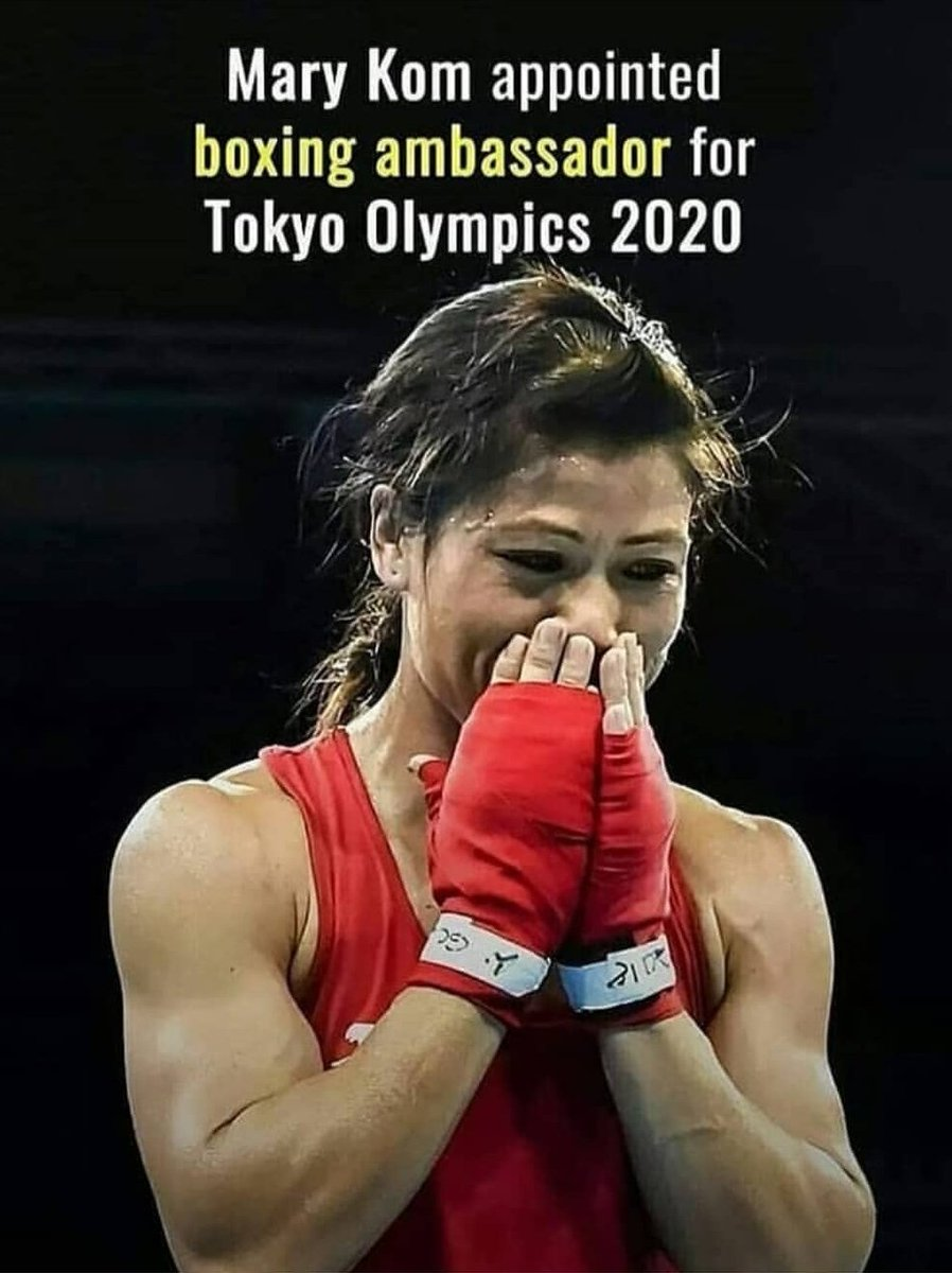 She make us Indians proud everytime.More power n Respect @MangteC.you are true Inspiration to the Girls..we love you.#marykom #Tokyo2020 #Olympics #boxing #SportsPicks #India #Indians #tokyoolympics2020
