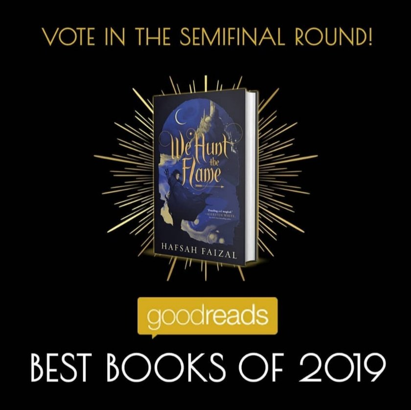 Guys! Todays the last day to vote for WE HUNT THE FLAME in the YA Fantasy and/or Debut Novel categories! Please consider doing so! 💖 Just head to goodreads.com/choiceawards/b…, sign in, and click the vote button! And here! goodreads.com/choiceawards/b…