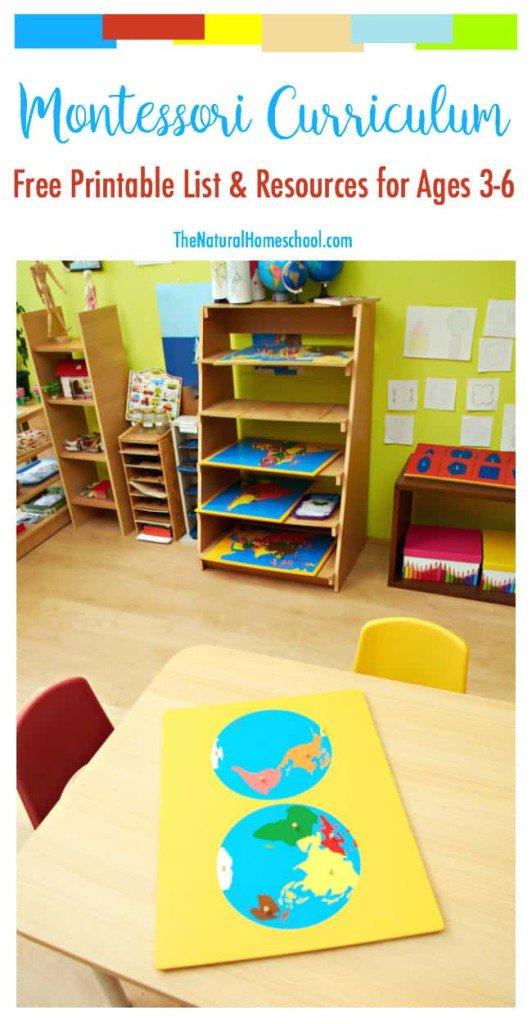 The Best Free Montessori Curriculum List https://www.thenaturalhomeschool.com/free-montessori-curriculum-list-resources-printable.html… #homeschool #learningfun #homeschooling #learning