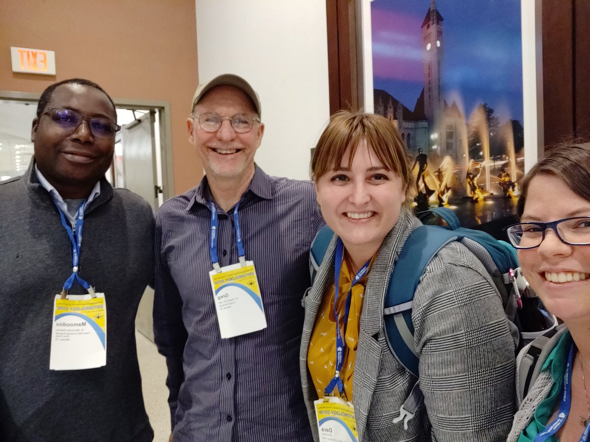 Master's advisor + postdoc advisor in one place makes #EntSoc19 even more fun.  I love getting to catch up with folks from different stages of my career each year.<br>http://pic.twitter.com/XWXWfQgJyV