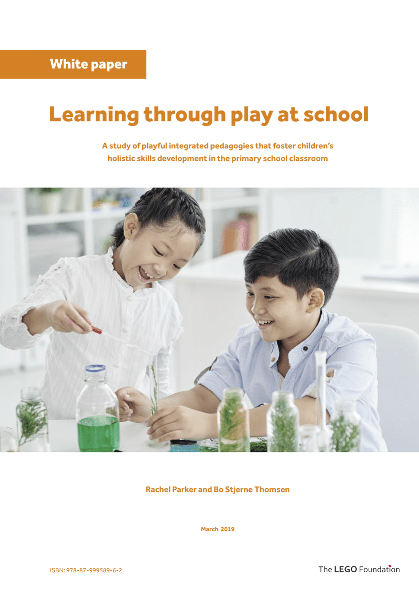 The evidence supporting learning through #play's positive impact on child development is strong. Yet many education systems have reduced opportunities for #playful #learninghttps://www.legofoundation.com/media/1702/learning-through-play-school.pdf… #sdg4 #learningthroughplay@RachelHParker1 @acereduau & @BoStjerne @LEGOfoundation