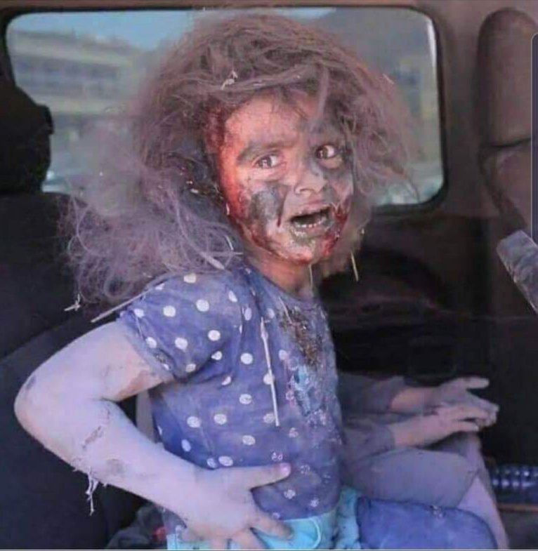 This is not Halloween This photo is taken from Palestine..  #ghazaunderattack <br>http://pic.twitter.com/gouRoXVPxF
