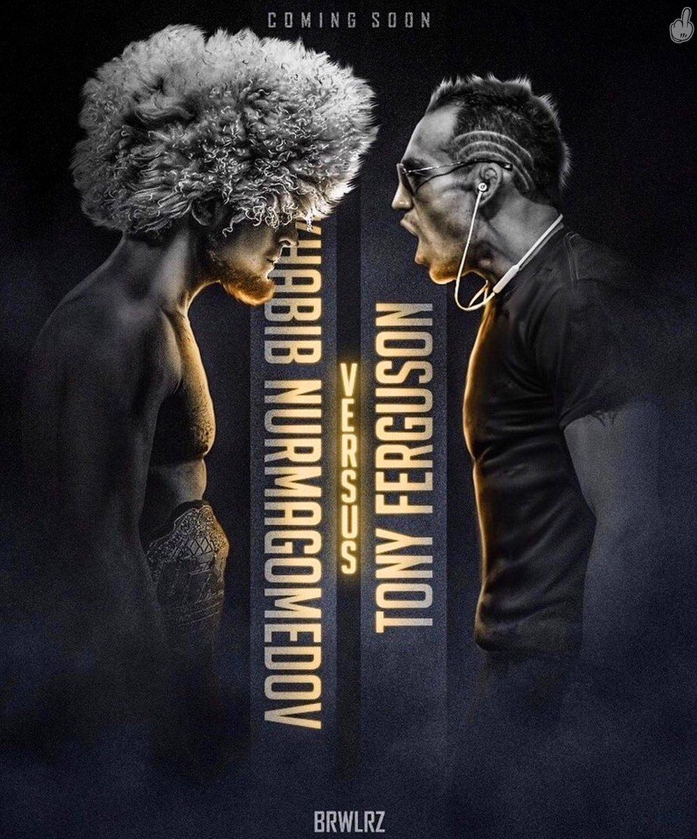 🧨🔥 Todos los caminos tienen un solo destino. ¡Khabib Nurmagomedov vs Tony Ferguson! Se encuentra en planes para UFC 248, el próximo mes de marzo. #UFC #UFC248