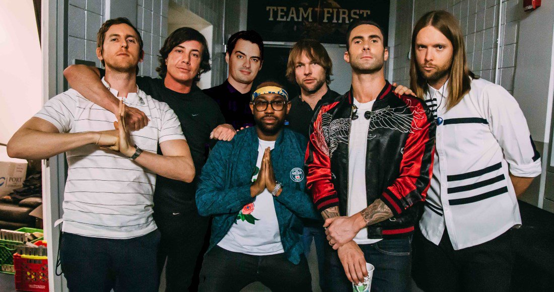 Official Chart: First Look - @maroon5s Memories could become their 8th UK Top 5 single this week bit.ly/2OgSmjY