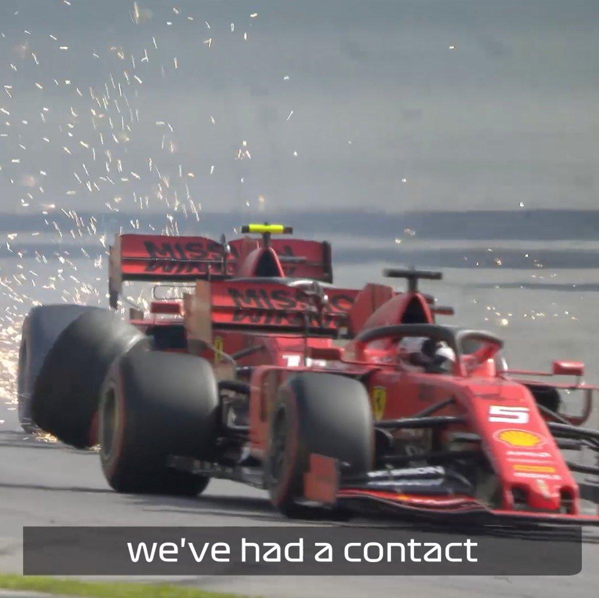 Both sides of the Ferrari story...  #BrazilGP 🇧🇷 #F1