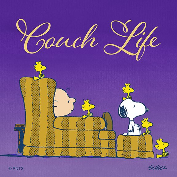 Living that couch life.