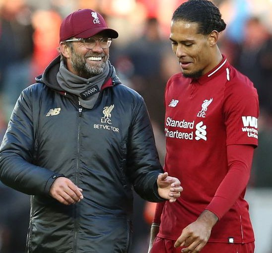 Virgil Van Dijk Klopp knows exactly how to get the best out of me - by being critical. When the media are hyping me and being very positive, he will downplay the praise and all that, often with a wink.