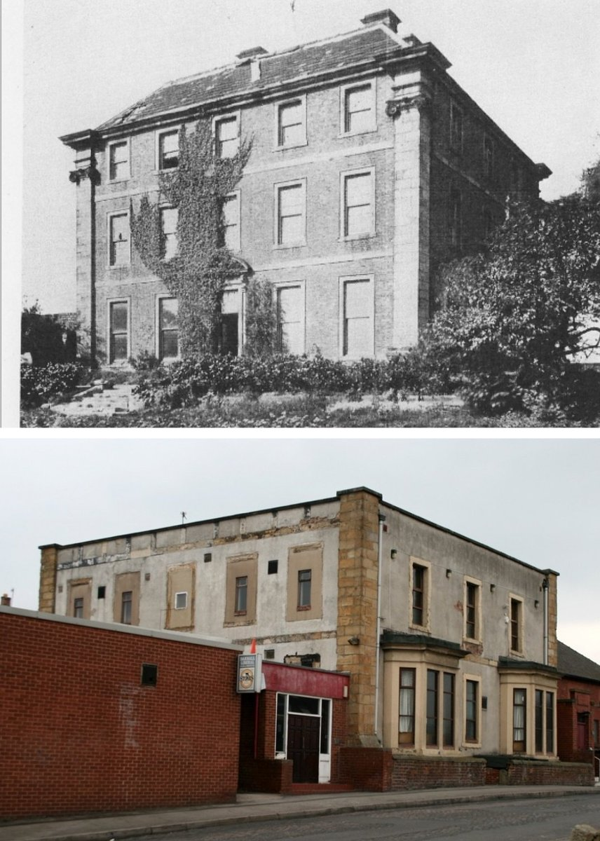 Darnall (Staniforth) Hall, Main Road, later Darnall Liberal club.  The following rhyme was cast in leadwork on the roof; 'This house was built as you may see In seventeen hundred and twenty three. This house was built as you may hear By Samuel Staniforth in one year' #Sheffield