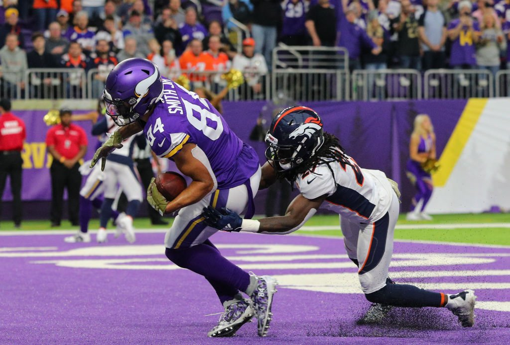The Broncos were 20-0 up but now it is GAME ON against the Minnesota Vikings who have clawed it back to 23-20. This and all the other games right here: https://bbc.in/2qlnEyd #bbcnfl