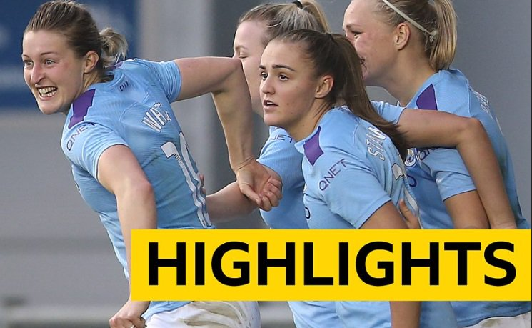 Manchester City produced a dominant display to beat West Ham in the #WSL. Here are the highlights: https://bbc.in/2KvOOcs