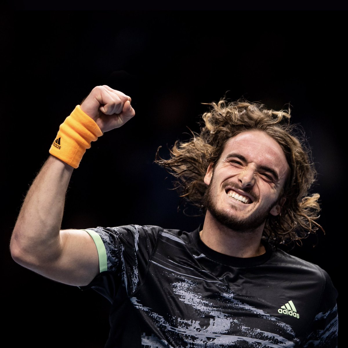 There's nothing more powerful than believing in yourself.  At age 6, @StefTsitsipas started taking tennis lessons. By 17, he became world junior number one. Now, at just 21 years old, he is living out his dream winning the biggest title of his career. #HereToCreate