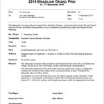 No further action on the Vettel-Leclerc collision
