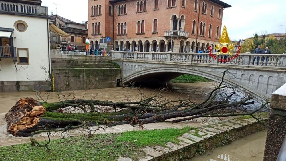 Maltempo in tutto il Veneto, situazione stabile pe...