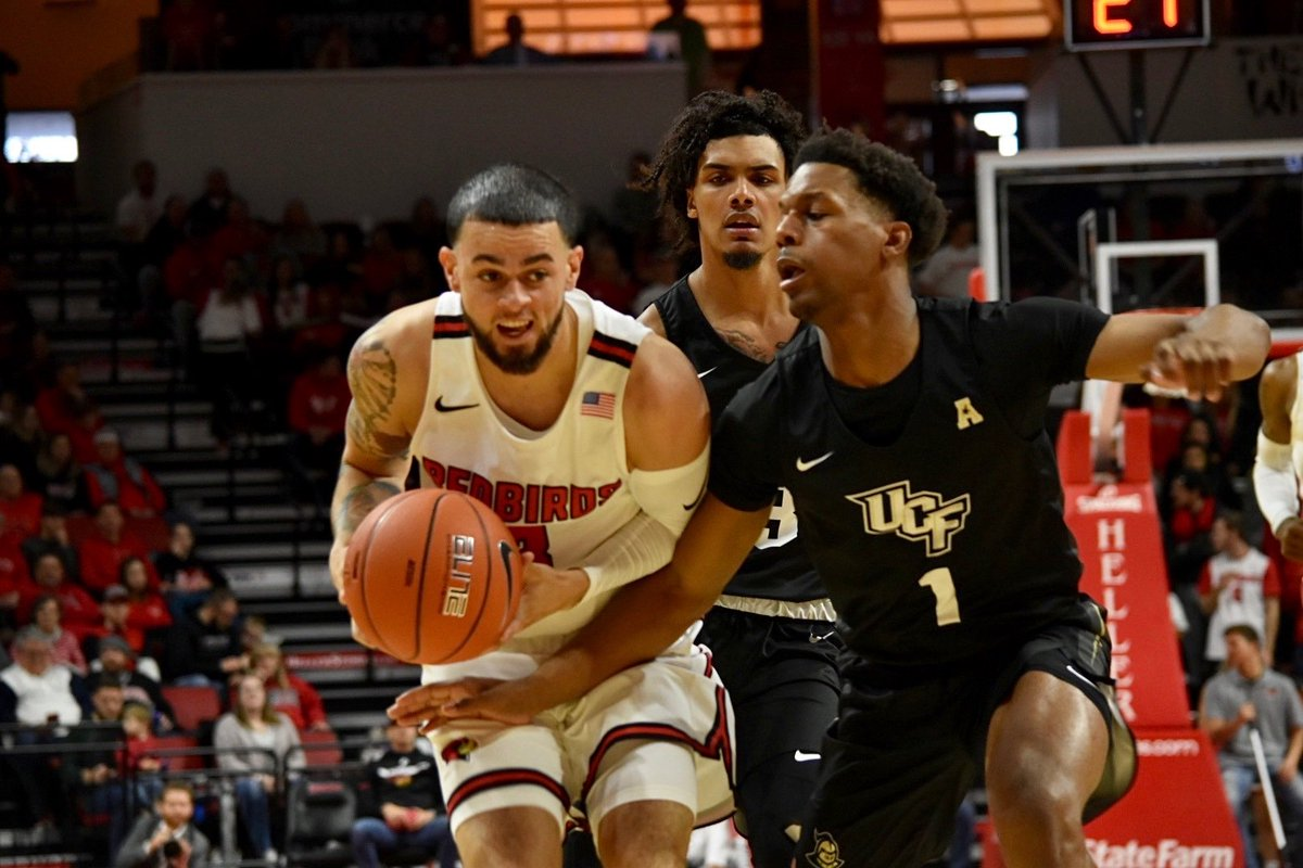 FINAL: UCF 67, ISU 65 Tough loss for the Redbirds after leading most of the game. ISU moves to 2-1 on the season, and will be back in action at 4:45 p.m. Friday for the Paradise Jam at the Virgin Islands against Cincinnati. #REDBIRDhoops<br>http://pic.twitter.com/6gwctRepyQ