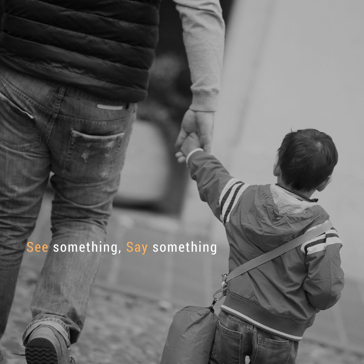 As teachers and parents, it's your job to make sure every child is safe. Create an atmosphere where children feel safe. If you see something off, say something. #childabuse #takeaction #saysomething