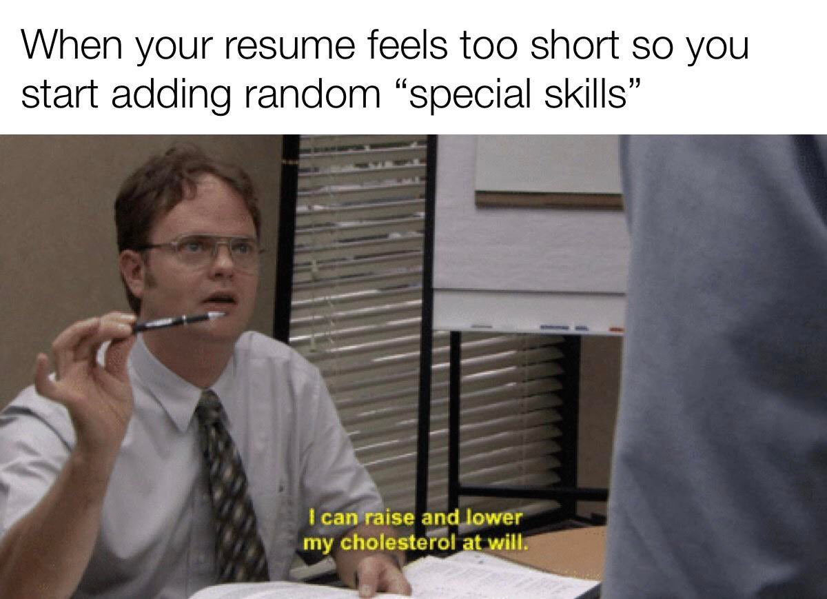 One of Dwight's many super powers! #theoffice credit: u/lotto27 <br>http://pic.twitter.com/lwcHidmeye