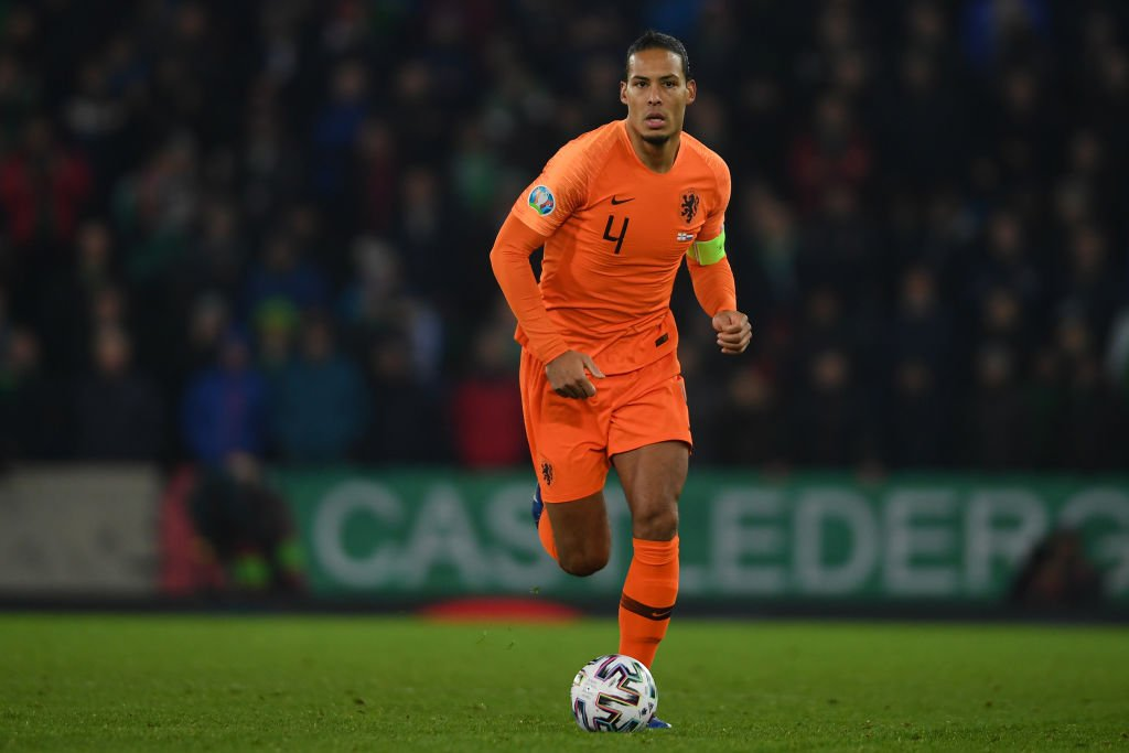 Virgil van Dijk will not play in the Netherlands' final Euro 2020 qualifier at home to Estonia on Tuesday. More: https://bbc.in/2Qqh2cw