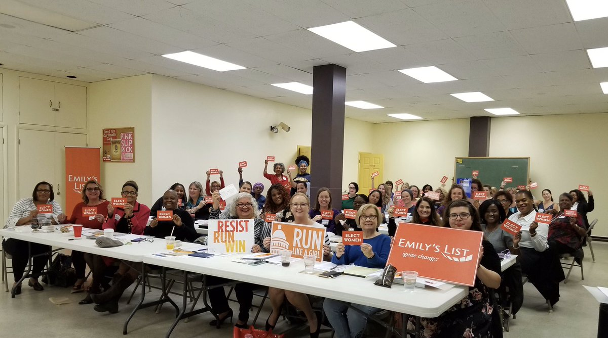 Thank you, Orlando! We leave Florida inspired by your stories and passion to move communities forward. Let's keep up this energy! We need you to run for office! https://www.emilyslist.org/run-to-win/trainings… #RunToWin #ElectWomen