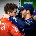 Whatever happened, happened. I won't comment the crash, but very happy for you my friend. You deserve all of this, the 1st podium is always special and we both dreamt of that moment since racing in karting together, you're the best, enjoy today @PierreGASLY  📸: @KymIllman
