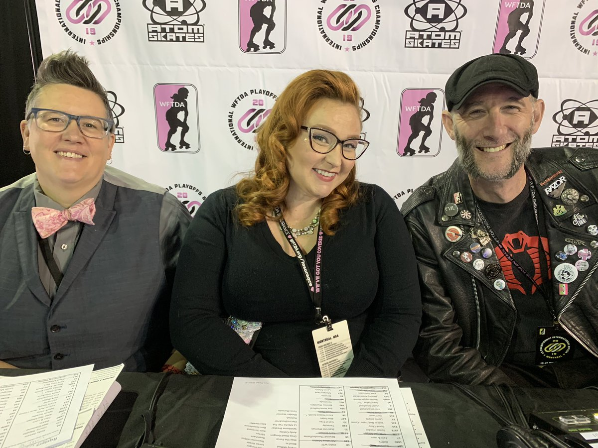 Your fabulous Dream stream team for the  game of the @WFTDA International Championships 2019 #wftdachamps2019 <br>http://pic.twitter.com/dpy5cwvJL6
