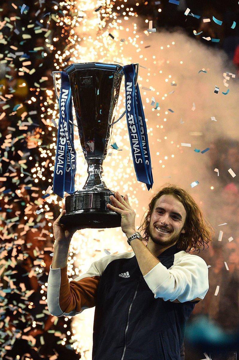 Started the year as an #AusOpen semifinalist and ends it #NittoATPFinals champion   Congrats, @StefTsitsipas <br>http://pic.twitter.com/Oazx3h2S2D