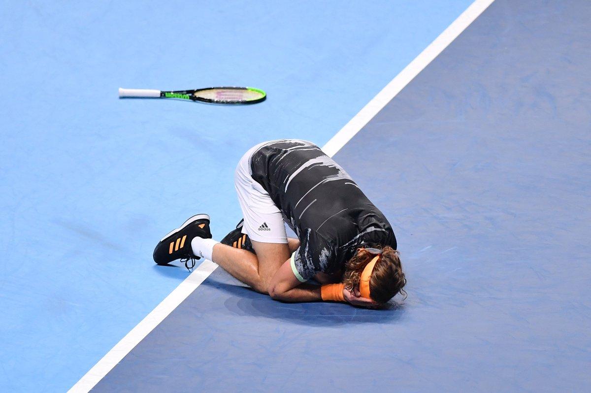 One GIF to describe this moment....  @StefTsitsipas | #NittoATPFinals <br>http://pic.twitter.com/srSMoWQqYW