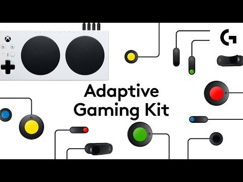Play your way and unlock the potential of your @Xbox Adaptive Controller with the #LogitechG Adaptive Gaming Kit. #KeepPlaying https://bit.ly/2COEeZU
