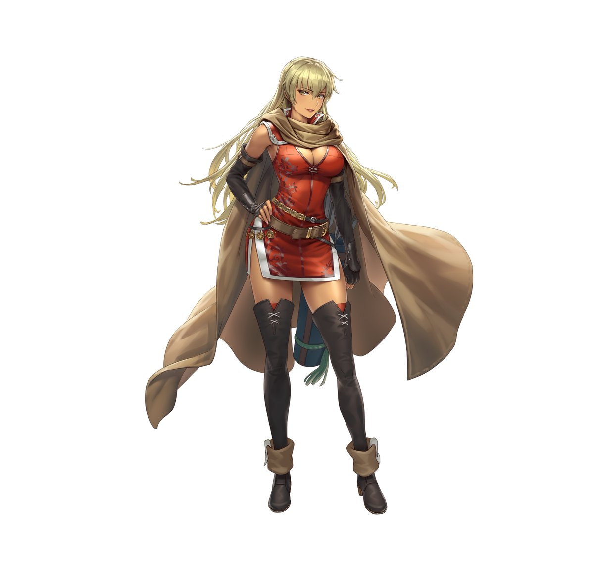 Meet Igrene: Nabata Protector from the #FireEmblem: The Binding Blade game. Daughter of Hawkeye and protector of Nabata. Although she has lost her family, she is stalwart in her duty. #FEHeroes guide.fire-emblem-heroes.com/en-US/05010003…