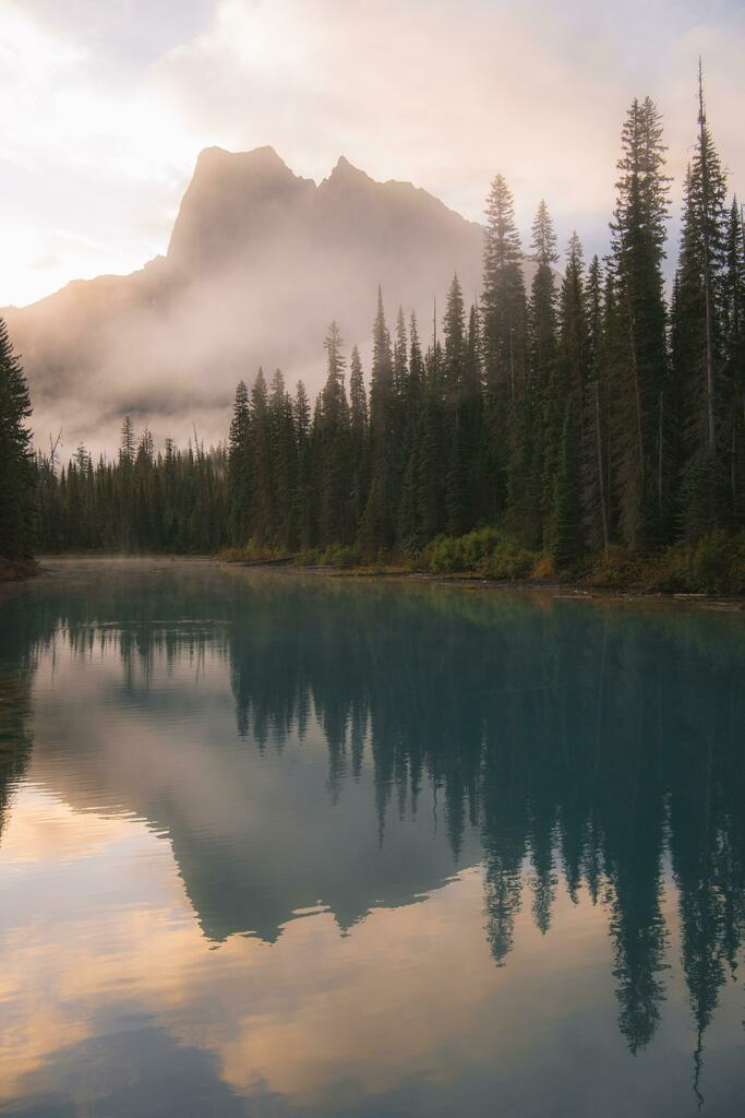 Colorful Reflections in Yoho National Park, BC [OC] [4912 X 7360] #Landscape #Photography #Natural #Beauty #camping #hiking #travel #backpacking