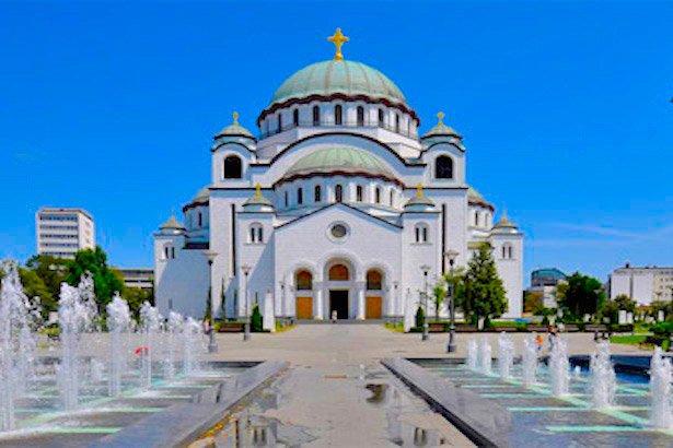 Saint Sava Temple - largest Orthodox temple in the Balkans #Travel #Belgrade #Serbia #Photo http://bit.ly/1l0CSAn
