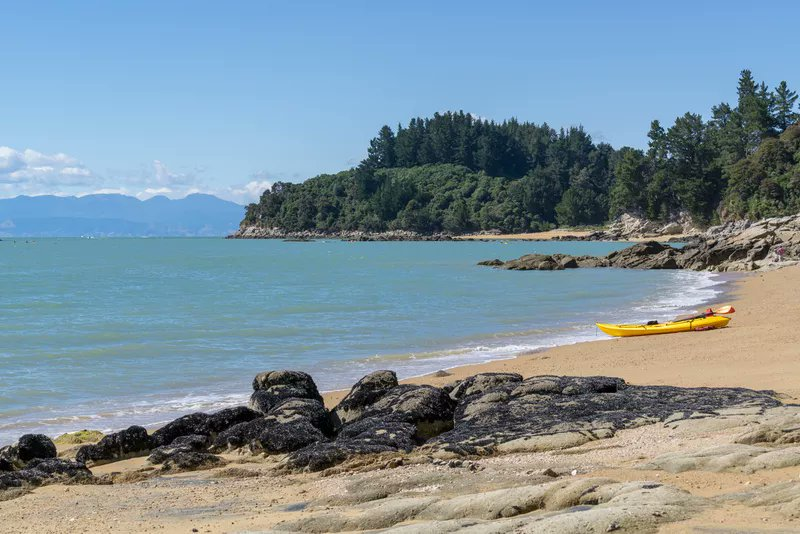 This national park is New Zealand's smallest, but it might be its most appealing. #travel #thingstodo  http://cpix.me/a/85991431