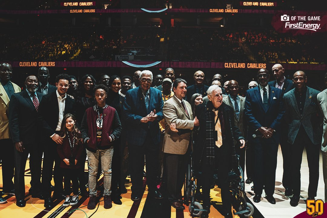 Wouldn't be where we are today without these pioneers.   More Wall of Honor 📸 » https://on.nba.com/32VBTan   #Cavs50