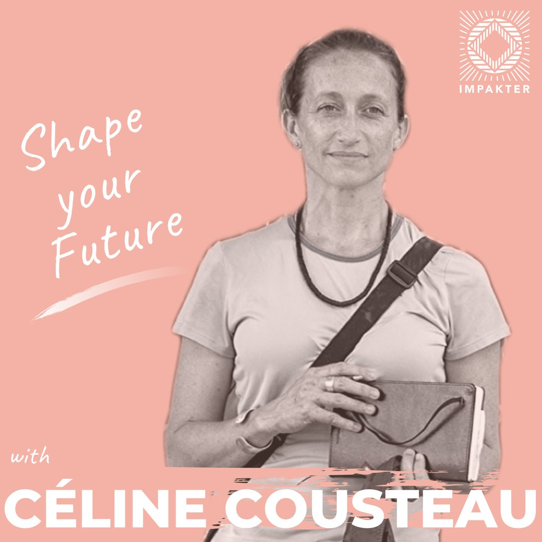 INSPIRING CELINE!  She is Cousteau's granddaughter. #ShapeYourFuture with @celinecousteau Documentary filmmaker and Founder and Executive Director of CauseCentric Production @_CauseCentric - Check it out ☛  https://buff.ly/36PCxJC via @impakterdotcom #TakeAction