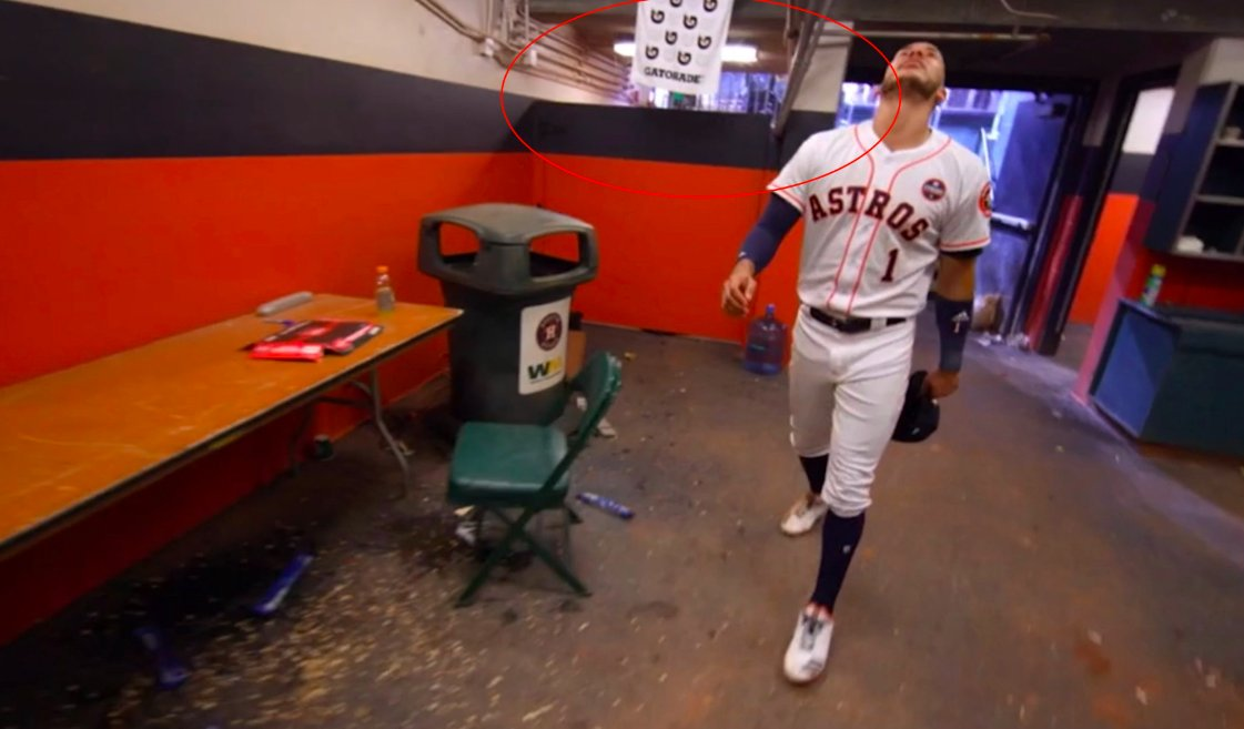 """Image result for astros cheating set up"""""""