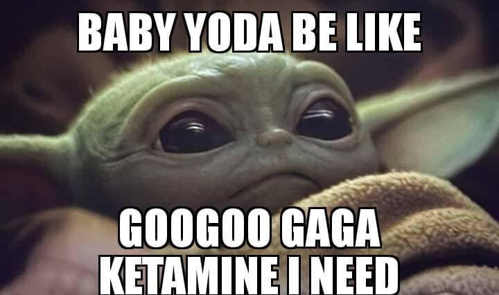Beans After Dark On Twitter Baby Yoda Would Beat The Shit